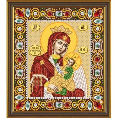 """Набор для вышивания бисером Новая Слобода Д6006 """"Богородица «Утоли моя печали»"""""""