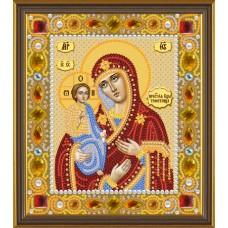 """Набор для вышивания бисером Новая Слобода Д6007 """"Богородица «Троеручица»"""""""