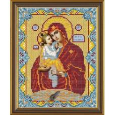 """Набор для вышивания бисером Новая Слобода Н9025 """"Богородица Почаевская"""""""