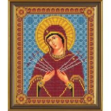 """Набор для вышивания бисером Новая Слобода Н9058 """"Богородица «Умягчение злых сердец»"""""""