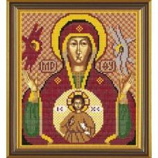 """Набор для вышивания бисером Новая Слобода Н9060 """"Богородица «Знамение»"""""""