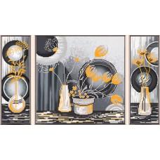 """Рисунки на ткани для вышивания бисером Новая Слобода В32006 """"Желтые цветы"""""""