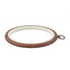230-2 П'яльця-рамка Nurge круглі каучукові з підвісом, висота обода 8мм, діаметр 135мм