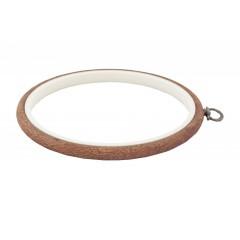230-3 Пяльцы-рамка Nurge круглые каучуковые с подвесом, высота обода 8мм, диаметр 170мм