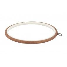 230-4 П'яльця-рамка Nurge круглі каучукові з підвісом, висота обода 8мм, діаметр 205мм