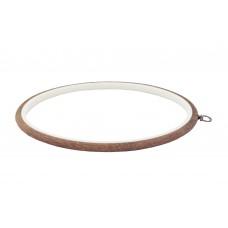 230-5 П'яльця-рамка Nurge круглі каучукові з підвісом, висота обода 8мм, діаметр 245мм