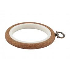 230-1 П'яльця-рамка Nurge круглі каучукові з підвісом, висота обода 8мм, діаметр 95мм