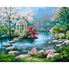 """Набор для рисования Plaid 21692 """"Японский садик"""""""