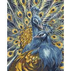 """Набор для рисования Plaid 21700 """"Величественные павлины"""""""
