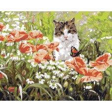 "Набор для рисования Plaid 21701 ""Кошкин сад"""