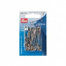 Английские булавки Prym 085120 безопасные 0-2-3 тверд. сталь, никелевые