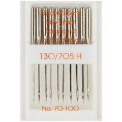 Иглы Prym 151300 для швейных машин 130-705 70-100 10 шт.