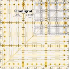Универсальная линейка Prym 611306 Растр с сантиметровой шкалой 15 x 15 см