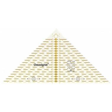 """""""Проворный"""" треугольник Prym 611313 с сантиметровой шкалой для  квадрата до 20 см"""