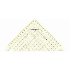 """""""Проворный"""" треугольник Prym 611314 с сантиметровой шкалой для квадрата до 15 см"""