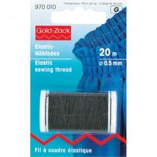 Эластичная нить Prym 970010 для шитья черная