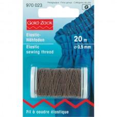 Эластичная нить Prym 970023 для шитья коричневая