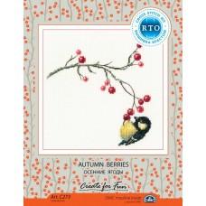 набор для вышивания РТО С273 Осенние ягоды