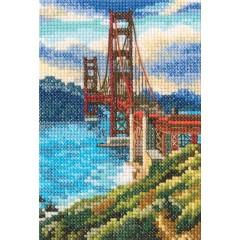 Набор для вышивания RTO C302 Мост Золотые ворота