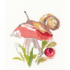 Набор для вышивания RTO EH379 Сыроежка