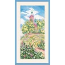 "Набор для вышивания RTO M064 ""Церковь Спаса на холме"""