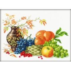 """Набор для вышивания RTO M187 """"Наслаждаясь урожаем фруктов"""""""