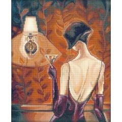 """Набор для вышивания RTO M238 """"Триш Биддл - Эффектные женщины в роскошных местах"""""""