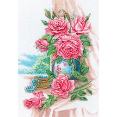"""Набор для вышивания RTO M274 """"Великолепные розы"""""""