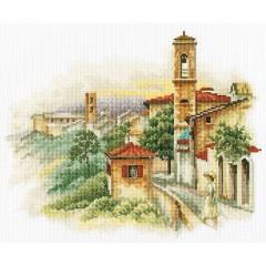 Набор для вышивания RTO M357 Приморский городок