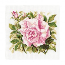Набор для вышивания RTO M372 Роза грандифлора
