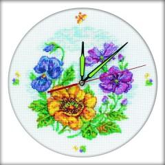 """Набор для вышивания RTO M40006 """"Цветочные часы"""""""