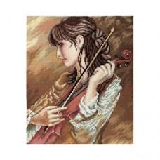 """Набор для вышивания РТО M437 """"Соната для скрипки"""""""