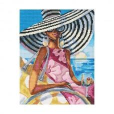 Набор для вышивания RTO M472 Эффектные женщины в роскошных местах