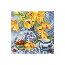 Набор для вышивания РТО M504 Натюрморт с тюльпанами