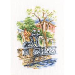 Набор для вышивания RTO M538 Мосты Петербурга