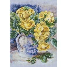 Набор для вышивания RTO M599 Желтые розы
