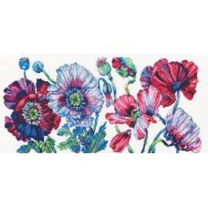 Набор для вышивания RTO M604 Пурпурные маки