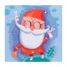 Набор для вышивания RTO M647 Добрый Санта