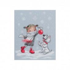 Набор для вышивания RTO M652 В вальсе снежинок