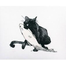 Набор для вышивания РТО M665 Среди черных котов