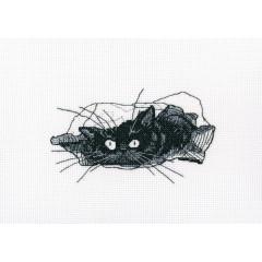 Набор для вышивания РТО M667 Среди черных котов