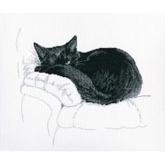 Набор для вышивания РТО M668 Среди черных котов