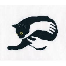 Набор для вышивания RTO M669 Среди чёрных котов