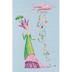 Набор для вышивания РТО M681 Там, где живут цветы