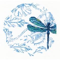 Набор для вышивания RTO M70024 Танец стрекоз