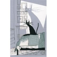 Набор для вышивания РТО M70025 Среди черных котов