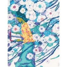 Набор для вышивания RTO M715 Стихи,сквозь белизну цветов