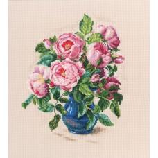 Набор для вышивания RTO M720 Нежные бутоны роз