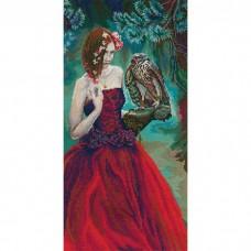 Набор для вышивания RTO M724 Девушка с ястребом