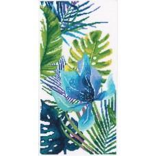 Набор для вышивания RTO M747 Голубой цветок